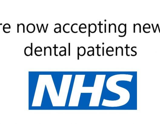 We are accepting New NHS Dental Patients